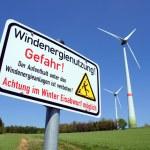 Wind energy — Stock Photo