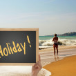 Holiday feeling — Foto Stock