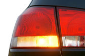 Hazard warning lights — Stock Photo