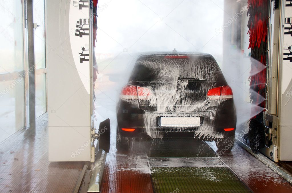 Car Wash — Stock Photo #7991537