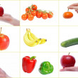 Fruit and Vegetables — Stock Photo #8603728
