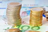 Dinheiro do euro — Foto Stock