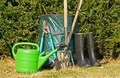 庭の時間 — ストック写真
