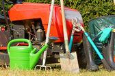 Zahradní nářadí — Stock fotografie