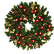 Stock Photo: Christmas decoration red