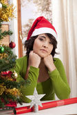 Sad lonely Xmas — Stock Photo