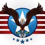 American Bald Eagle — Stock Vector #9010842