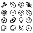 Stock Vector: Sport Icon Set