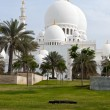 Grand mosque in Abu Dhabi,united Arab Emirates — Lizenzfreies Foto