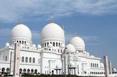 Sheikh Zayed mosque at Abu Dhabi,United Arab Emirates — Stock Photo