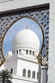 окно на ислам — Стоковое фото