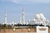 Grand mosque in Abu Dhabi,united Arab Emirates — Stock Photo