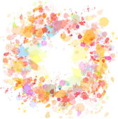 Abstract watercolor blobs background — Stock Vector