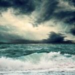 вид storm seascape — Стоковое фото #8783802