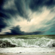 Stock Photo: View of storm seascape