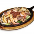 Fajitas — Stock Photo