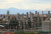 Oil refinery plant in Tarragona, Spain — Stock Photo