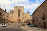 Santes Creus Monastery in Catalonia, Spain — Foto Stock