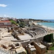 Roman amphitheater ruin in Tarragona, Spain — Stock Photo #10465571