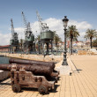 Old port of Tarragona, Spain - Stock Photo