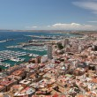 Cityscape of Alicante, Catalonia Spain - Stock Photo