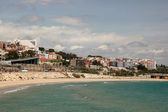 Seaside view of Tarragona, Catalonia Spain — Stock Photo