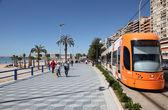 Promenade in Alicante, Catalonia Spain — Stock Photo