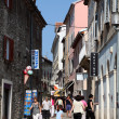 Street in the old town of Pula, Croatia — Stock Photo
