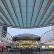 Gare do Oriente - one of the main train stations in Lisbon - Stock Photo