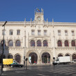 Rossio railway station, Baixa District, Lisbon — Foto Stock