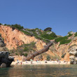 Stock Photo: Beach near Sagres in Algarve, Portugal.