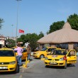 Stock Photo: Taxis in Kadikoy, Istanbul waiting for customers