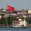 Stock Photo: Ferry in Istanbul