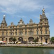 Haydarpasa Train Station in Istanbul Turkey. — Stock Photo