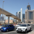 Royalty-Free Stock Photo: Cars on Sheikh Zayed Road in Dubai