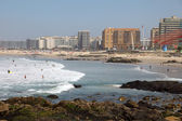 Plage de la ville de matosinhos portugal — Photo