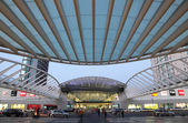 Gare do Oriente - one of the main train stations in Lisbon — Stock Photo
