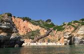 Beach near Sagres in Algarve, Portugal. — Stock Photo