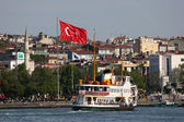 Ferry in istanbul — Stockfoto