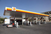 Shell petrol station in Muttrah, Muscat Sultanate of Oman — Stock Photo
