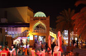 Nightlife in Muttrah, Muscat, Sultanate of Oman — Stock Photo