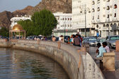 Muttrah Corniche, Muscat, Sultanate of Oman — Stock Photo