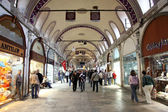 The famous Istanbul Grand Bazaar, Turkey — Stock Photo