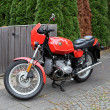 Old classic BMW R45 Motorcycle from 1980. — Stock Photo