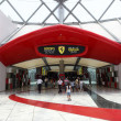 Stock Photo: Ferrari World Theme Park in Abu Dhabi