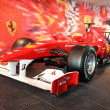 Formula One Racing Car in Ferrari World Theme Park in Abu Dhabi - Stock Photo