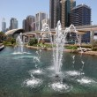 Fountain Downtown in Dubai — Stock Photo
