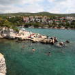 Adriatic coast near Crikvenica, Croatia. - Foto de Stock