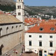 Onofrijeva fountain as seen from the city wall, Dubrovnik - Foto de Stock