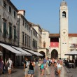 The main street in Dubrovnik old town - Stradun. - Foto de Stock